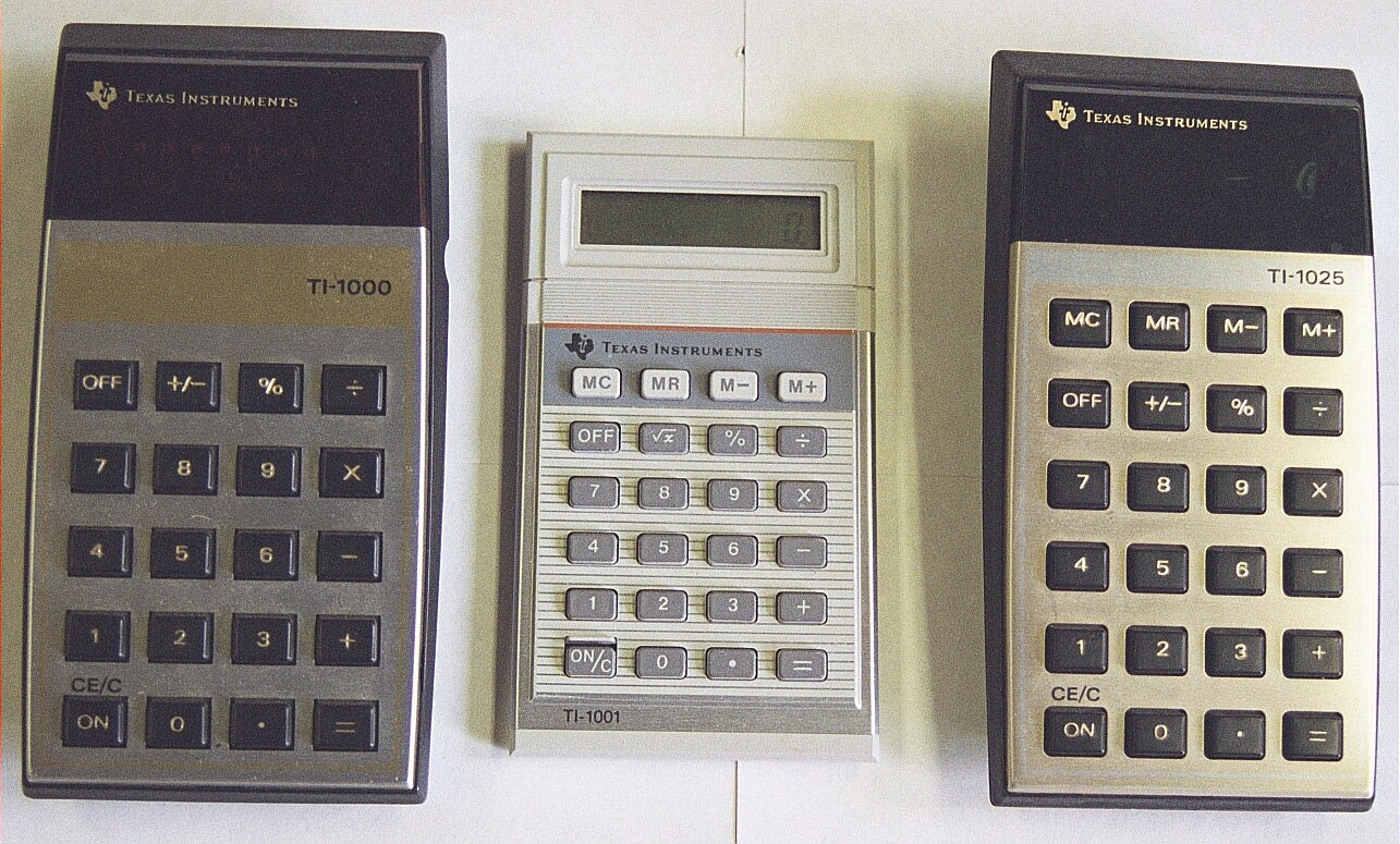 mark > s four function plus calculators