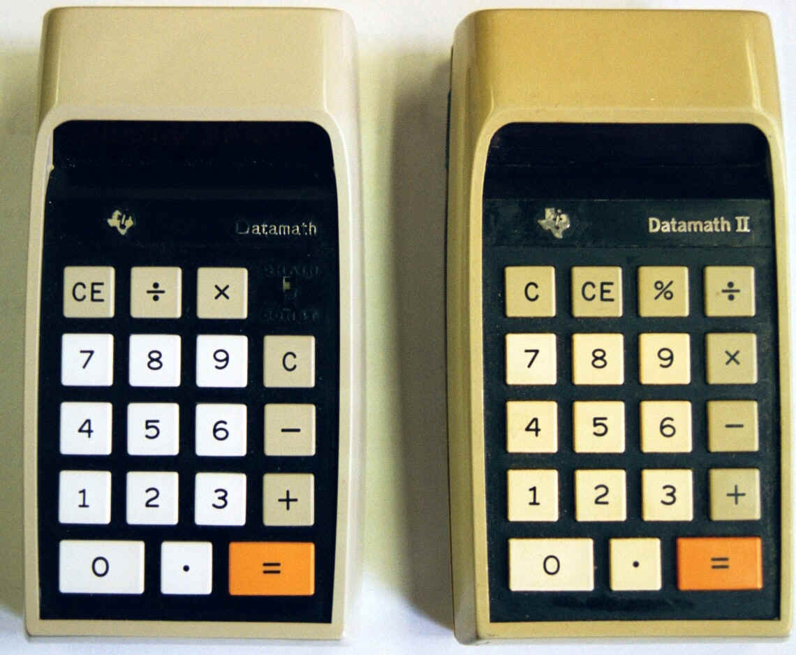 The Datamath Or Ti 2500 Was Released In 01972 And Texas Instruments First Calculator It Went Through Several Modifications Generation Models