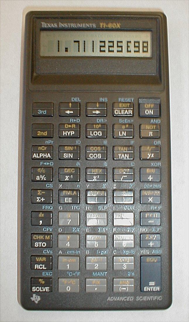 mark-->'s scientific calculators