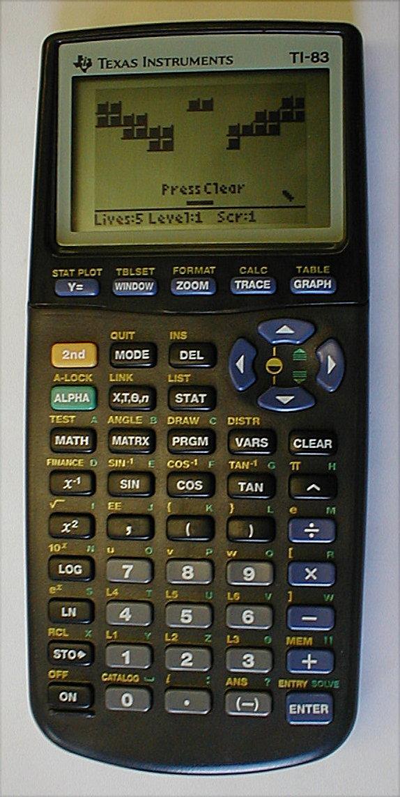 Ti 83 Calculator. TI-83: Updated TI-82.
