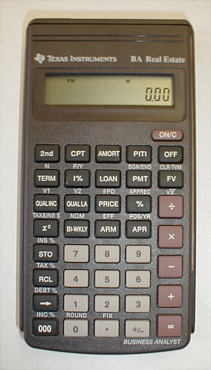 mark > s business calculators set to perform four functions each by using the red keys 2 ba 20 this inexpensive business calculator is degined as a small desktop machine and also